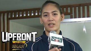 Sinong player ang pinaka mahirap i-block? | UAAP Asks | Upfront at the UAAP