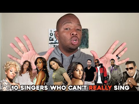 10 singers who can't really sing