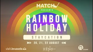 Rainbow Holiday DAY 1 - Episode 1 - Match Belgium