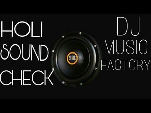 SOUND CHECK JaikaraholiCompetition Mix ( SOUND CHECK )Dj Deepak Jhansi,dj music factory,