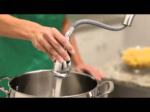 amazon-com-moen-7185c-brantford-one-handle-high-arc-pull-down-kitchen-faucet,-chrome-home-improvem