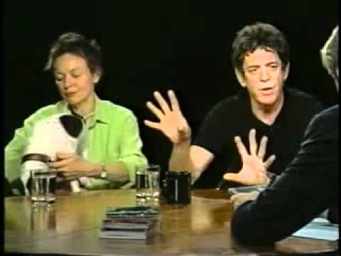 Laurie Anderson & Lou Reed Interviewed By Charlie Rose (2003) - Part Two