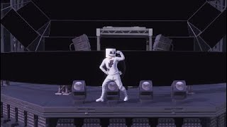 Marshmello Skin Performs Marsh Walk On Stage At Pleasant Park - Fortnite Emote