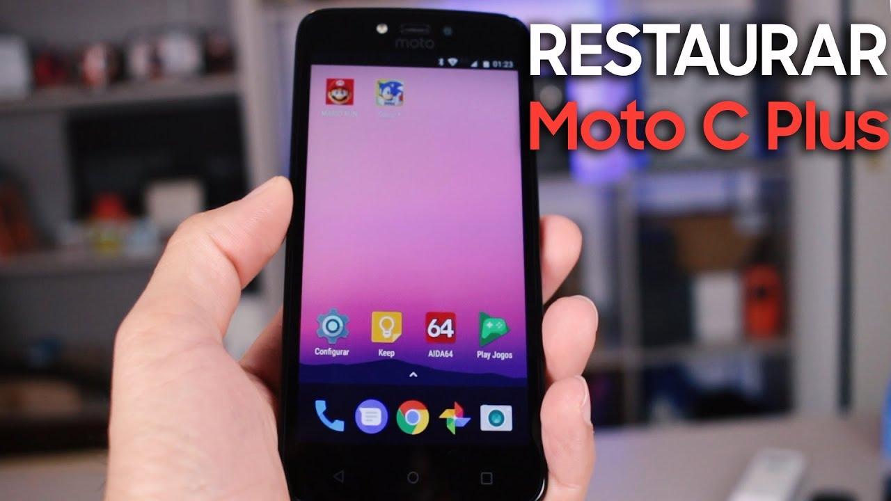 Como Formatar Motorola Moto C Plus e Outros    Hard Reset, Desbloquear