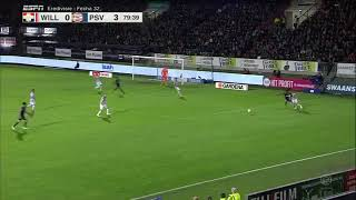 Hirving Chucky Lozano Salio lesionado | willen vs psv Eindhoven | Fecha 32 Eredivise 2018/2019