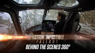 Go inside the stunts of Mission: Impossible - Fallout in 360°. Don'...