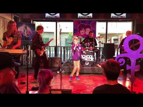 Play in the Sunshine school of rock students