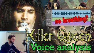 """Freddie Mercury VOICE analysis: """"Killer Queen"""""""