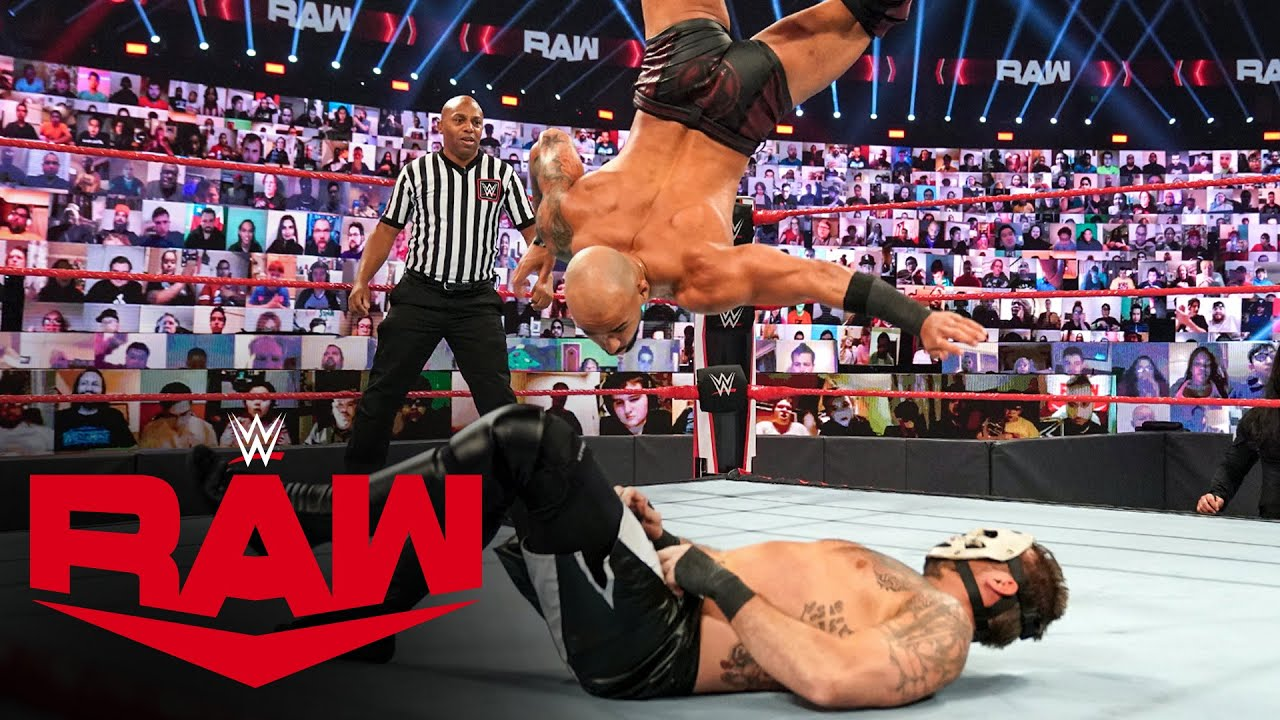 Ricochet vs. SLAPJACK: Raw, Nov. 30, 2020