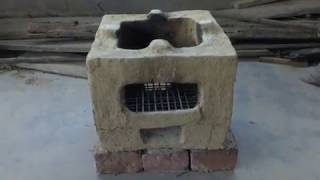 Indian Rocket Stove (Chulha) Part-1