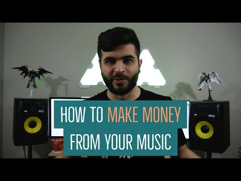 How To Make Money From Your Music (Distribution, Merch, Endorsements & Used Gear)