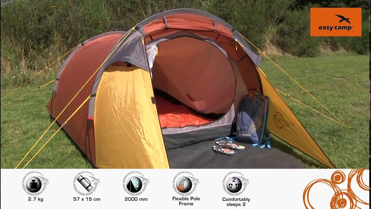 Easy C& Spirit 200 Tent | Just Add People & Easy Camp Spirit 200 Tent | Just Add People - YouTube