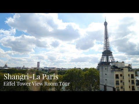 Shangri-La Hotel Paris Eiffel Tower Room Tour - Paris Five Star Hotel - Lux Life