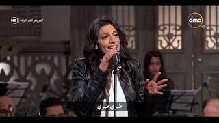 """صاحبة السعادة - أداء رائع للفنانة / نادينا ظريف صاحبة أغنية """" Vola Vola """""""