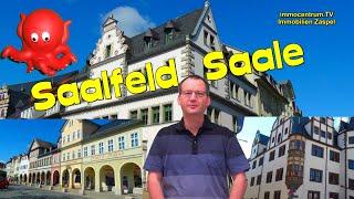 Saalfeld/Saale🏰⛲🍸Stadtrundgang in d. alten thüringer …