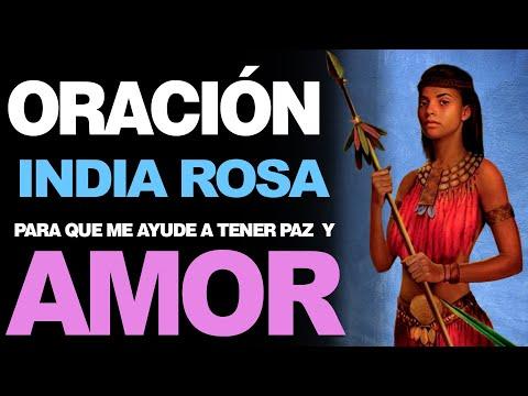 🙏 Oración a la India Rosa PARA TENER PAZ Y AMOR INTERIOR – Ideal para Tranquilizarse 🙇