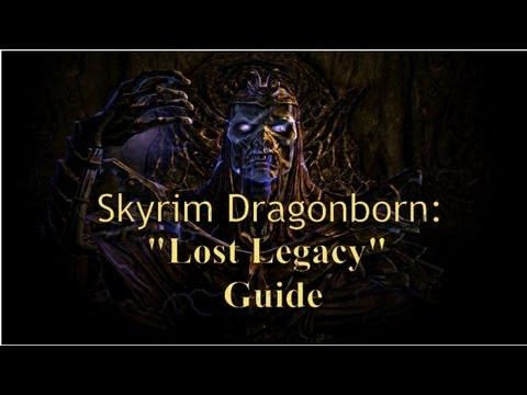 "Skyrim DLC Dragonborn: Quest ""Lost Legacy"" (Walkthrough/Guide) ""Vahlok the Jailer"" Dragon Priest |"
