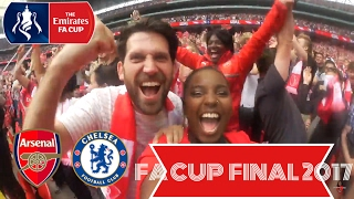 THE EMIRATES FA CUP FINAL| ARSENAL 2- 1 CHELSEA
