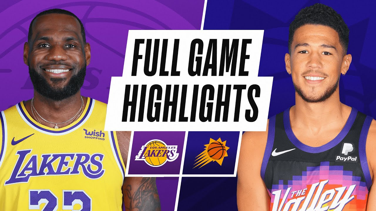 LAKERS at SUNS | FULL GAME HIGHLIGHTS | December 16, 2020