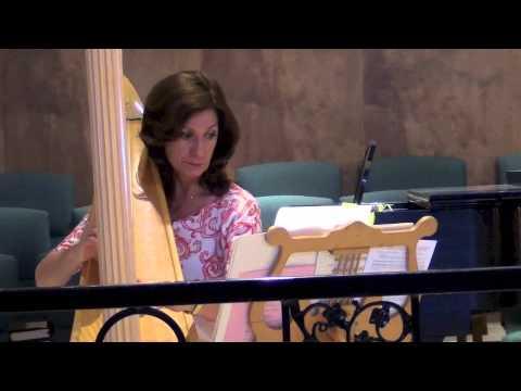 Harp Music for Mothers Day 2014 at Risen Savior Lutheran
