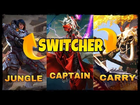 VAINGLORY: Ultimate Hero Role Switch | Taka Glaive Baron | Casual Match | Switcher Ep1