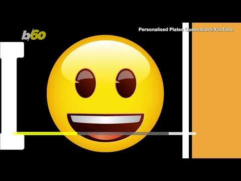 Australia permitirá emojis en las patentes de los autos