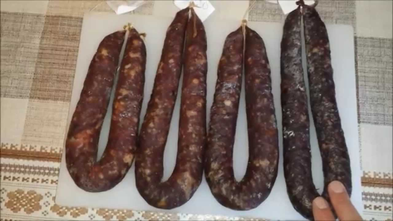 Сыровяленая домашняя колбаса. Часть 1. - YouTube