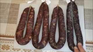 Способы приготовления сыровяленой колбасы(Несколько способов приготовления сыровяленой колбасы. А также более обстоятельное и подробное видео по..., 2015-03-30T07:30:50.000Z)