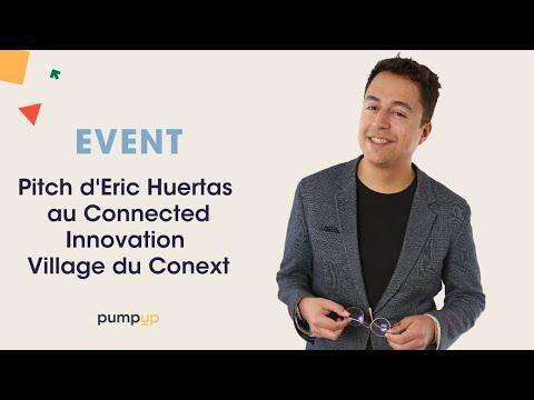 Présentation de notre agence webmarketing en mode Pitch au Connected Innovation Village du Conext