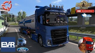 Euro Truck Simulator 2 (1.36)   Ford F-Max EVR Sound Road to Mannheim Germany Menci Cistern Ownable Trailer + DLC's & Mods  Support me please thanks Support me economically at the mail vanelli.isabella@gmail.com  Roadhunter Trailers Heavy Cargo  http://ro