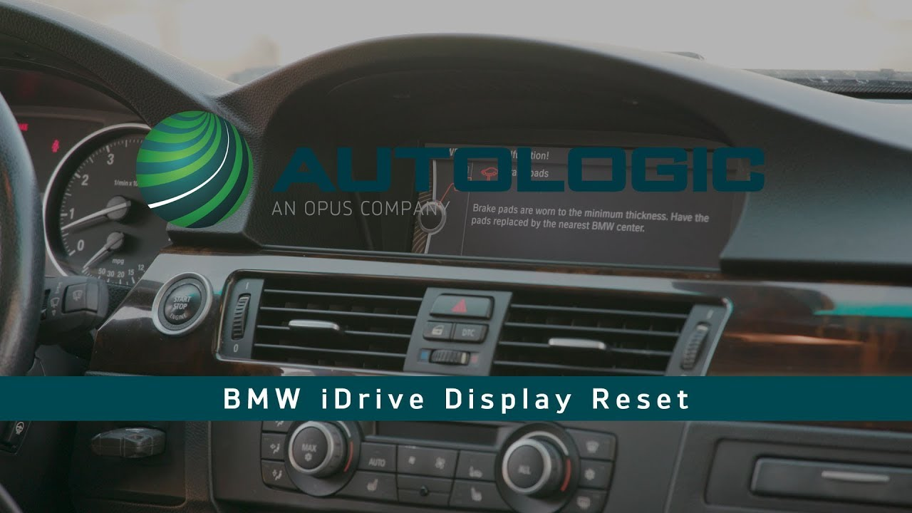 BMW iDrive Reset using AssistPlus