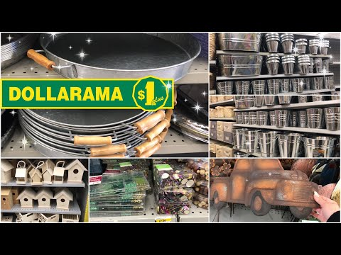 Dollarama Tour | Spring and Farmhouse items have arrived
