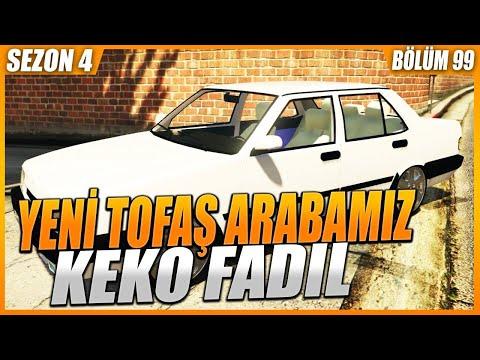 YENİ TOFAŞ ARABAMIZI ALDIK ! KEKO FADIL (GTA 5 ROLEPLAY # 99)