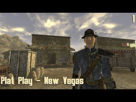 Plat Play - Fallout: New Vegas Part 1 - Ain't That a Kick in the Head