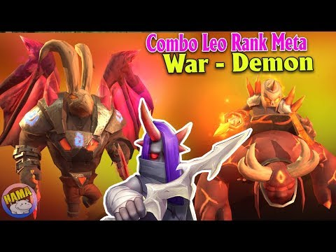 Auto chess Mobile - Demon Warriors Meta Mới Chiến Binh Quỷ Thổi Bay 6 Knight