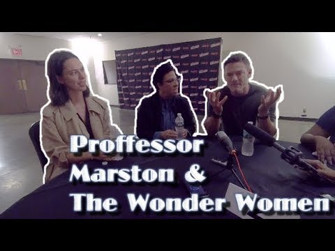 |#NYCC | Professor Marston and The Wonder Woman Cast Interview