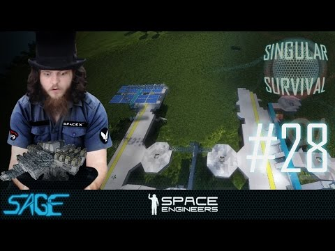 Space Engineers, Planning Period (Singular Survival, Ep 28)