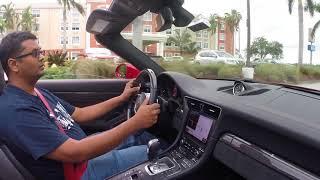 They let me drive a Porsche