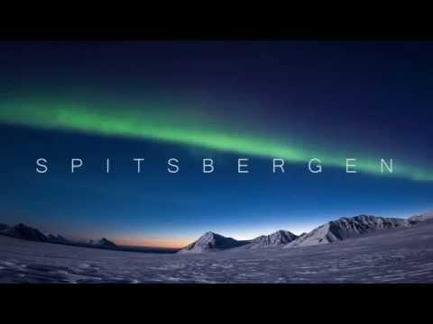 Aurora borealis in southern Spitsbergen