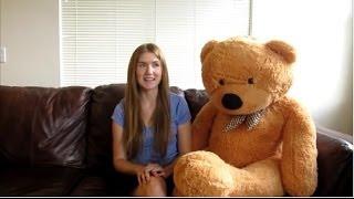 Christmas Huge Teddy Bear 5Ft (Yesbears.com)