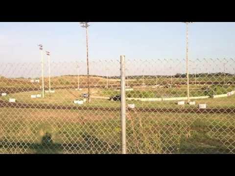 Mineral City Speedway 8-18-2013 B-Mod Heat 2