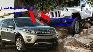 Jeep Wrangler Unlimited Vs Land Rover Discovery Sport: How The Two SUVs Compete In India