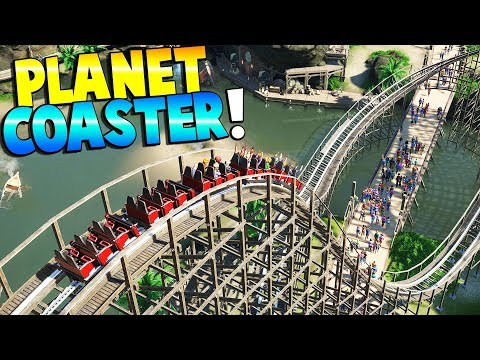Planet Coaster - THE PIRATE BATTLE BAY! - Planet Coaster Gameplay - Building a Theme Park!