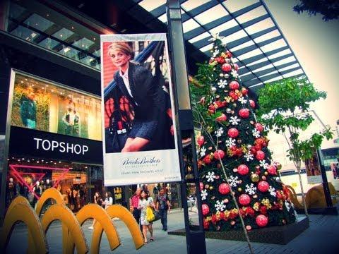 Christmas 2012 at Orchard Road Singapore