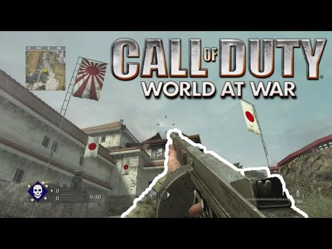 WORLD AT WAR XBOX ONE GAMEPLAY