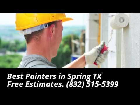 Best Painters Spring TX - 832-515-5399
