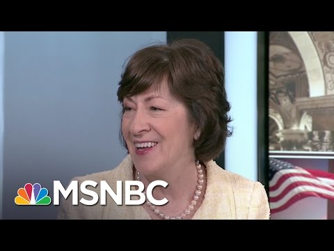 Senator Susan Collins: White House Leaks Gives Appearance Of 'Total Chaos' | Morning Joe | MSNBC