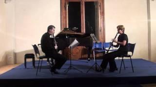 A. Stadler - Clarinet duo, III mv