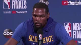 NBA Finals: Durant says Warrior vs Cavs Part 4 is great