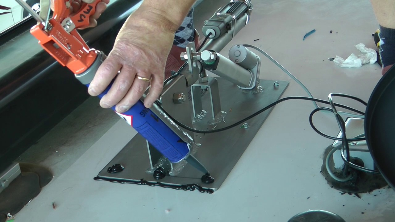 Electric RV Antenna Lift with plug & play wiring system